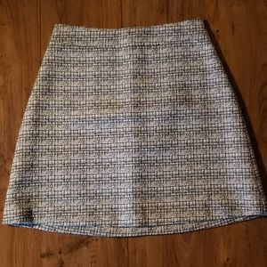 Nwot Express tweed a line skirt